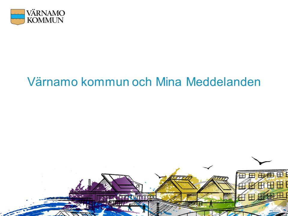 Värnamo kommun och Mina Meddelanden