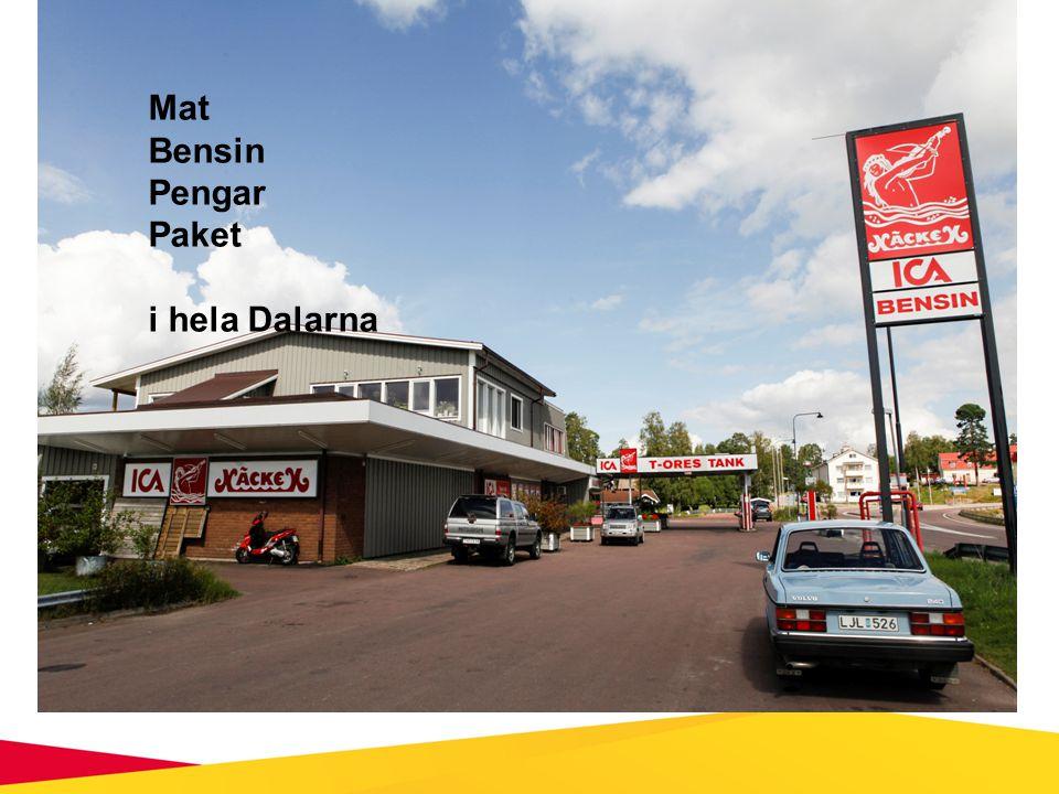 Knappt 50 butiker och mackar finns på listan över lanthandel och mackar på landsbygden i Dalarna Kartläggning 2013 Omsätter 577 milj./år Genomsnitt 11,5 milj.