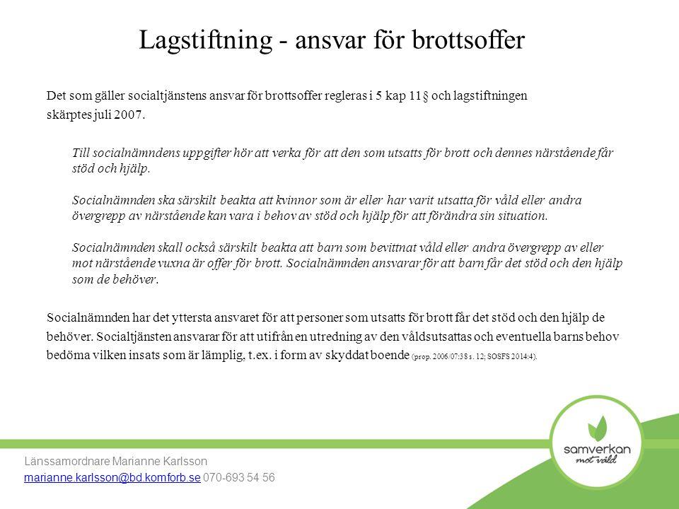 Process till långsiktig boendeform Länssamordnare Marianne Karlsson marianne.karlsson@bd.komforb.se Mobil: 070-693 54 56