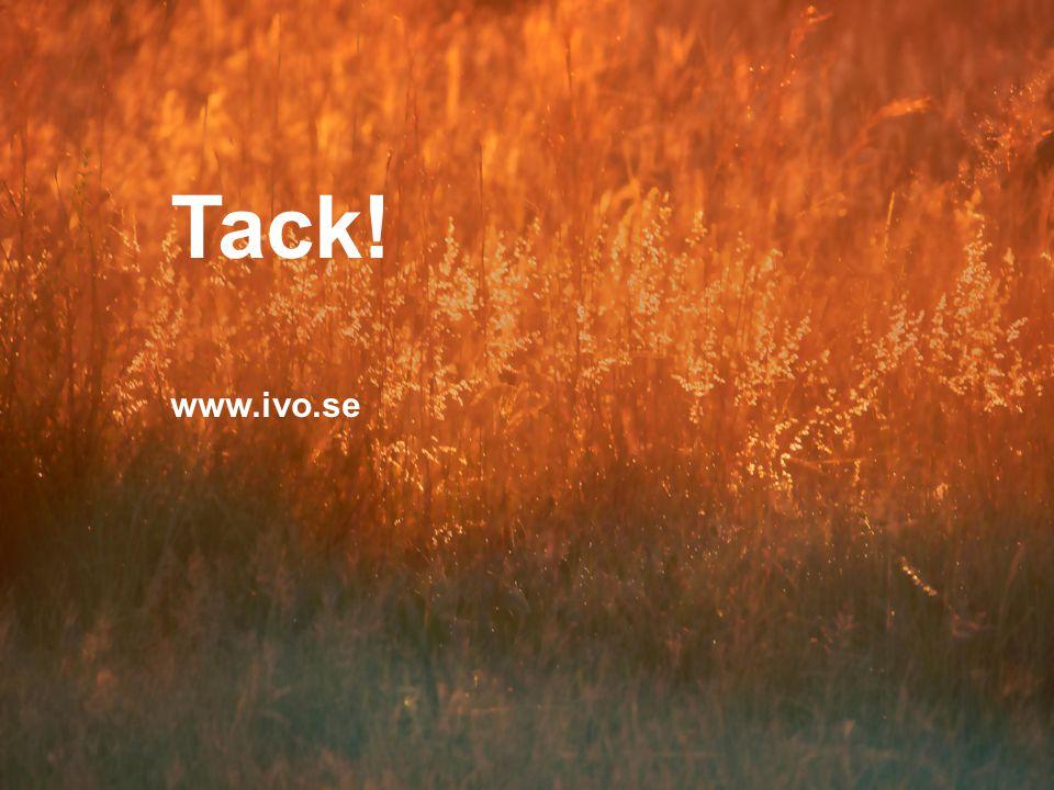 Tack! www.ivo.se