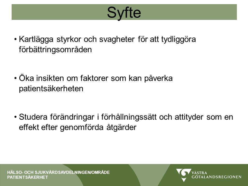 Avvikelserapportering 2013-2014 HÄLSO- OCH SJUKVÅRDSAVDELNINGEN/OMRÅDE PATIENTSÄKERHET