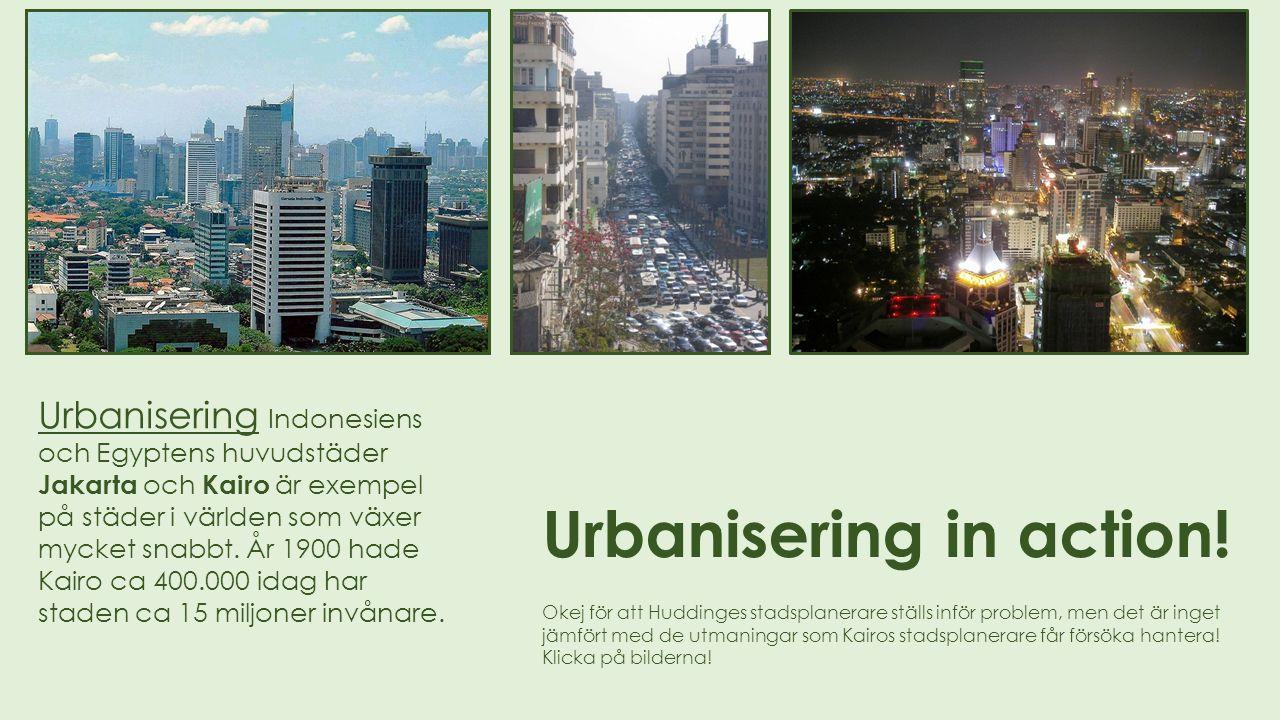 Jobben finns i städerna.
