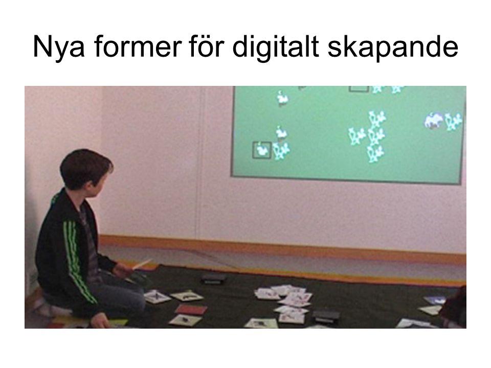 Nya former för digitalt skapande