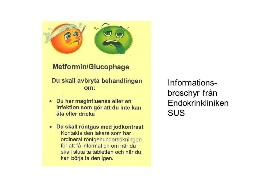 Informations- broschyr från Endokrinkliniken SUS