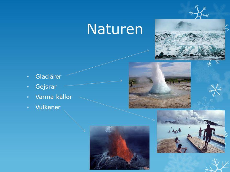 Mer natur Älvar Sjöar Vattenfall Öken