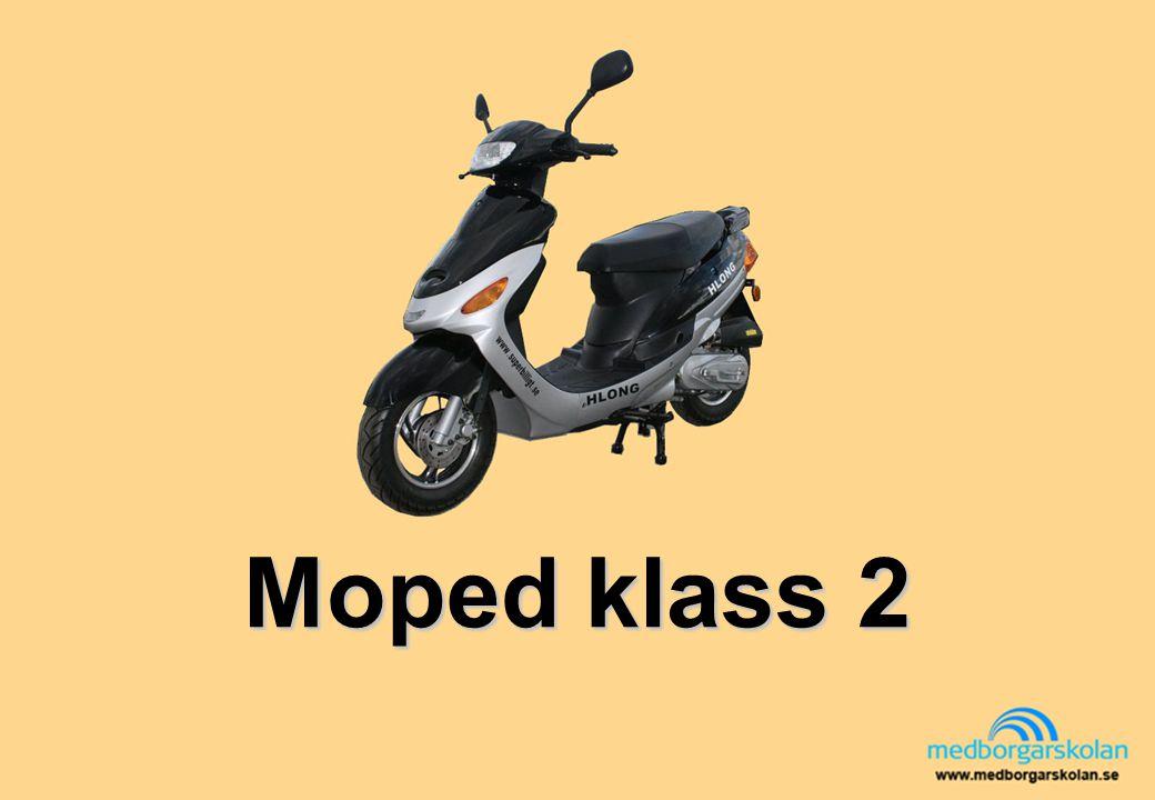 Kan du köra din moped rätt.Varm asfalt: när det är soligt och varmt kan asfalten blöda .
