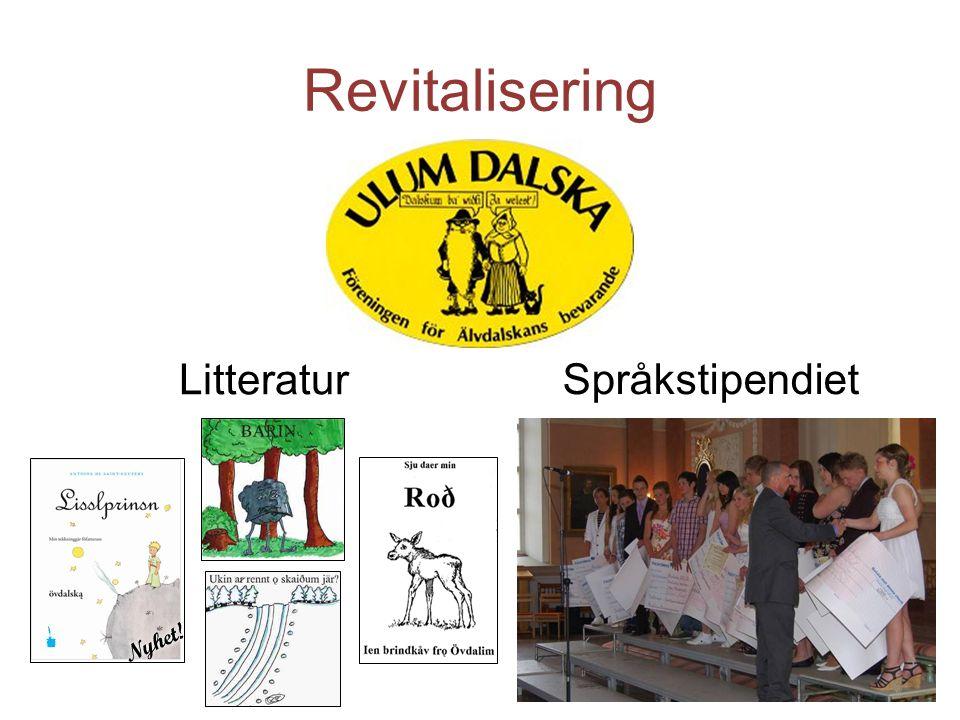Revitalisering Litteratur Språkstipendiet 6