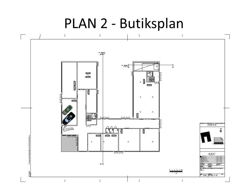 PLAN 2 - Butiksplan
