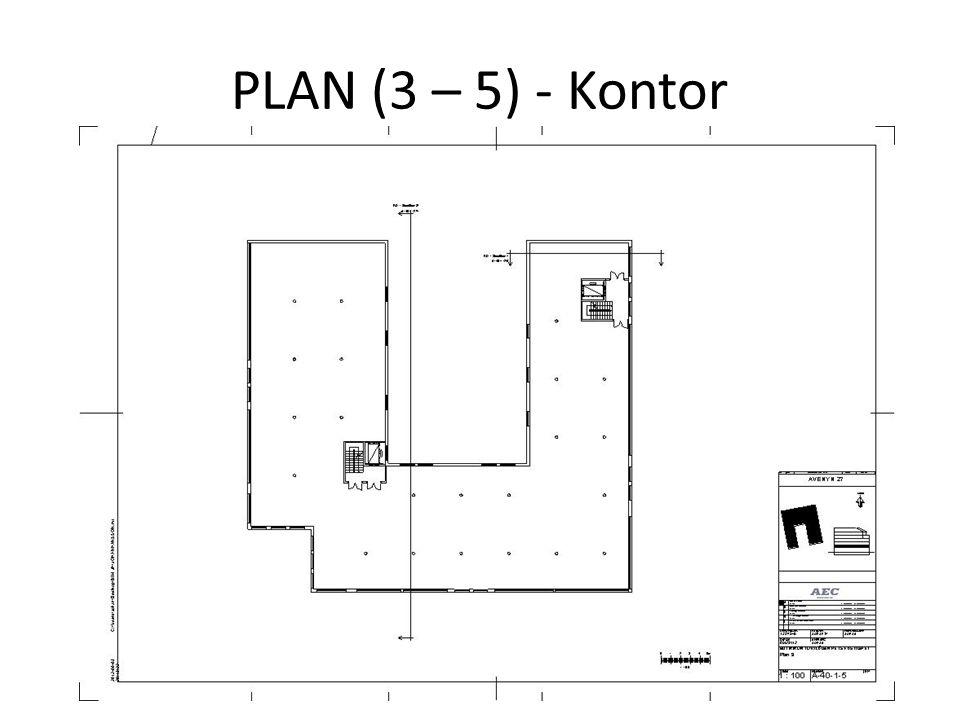 PLAN (3 – 5) - Kontor