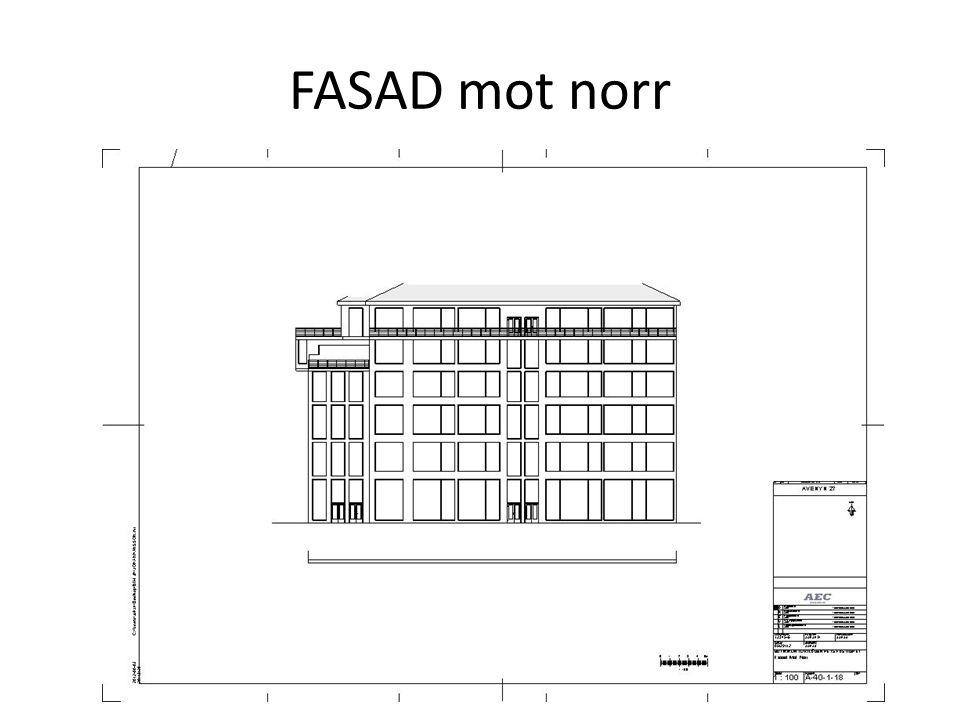 FASAD mot norr