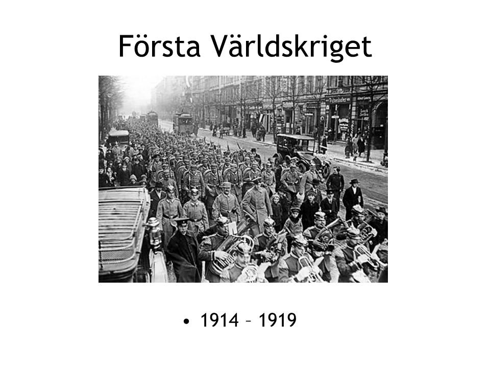 Kamp om kolonier Rustning Allianser Kamp om råvaror och marknader Nationalism Sarajevo 1914 VARFÖR KRIG.