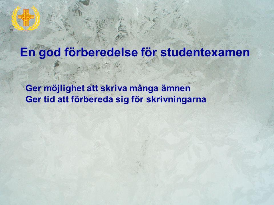 9 - 15 Gymnasiets hemsida (www.korsholm.fi/gymnasiet)