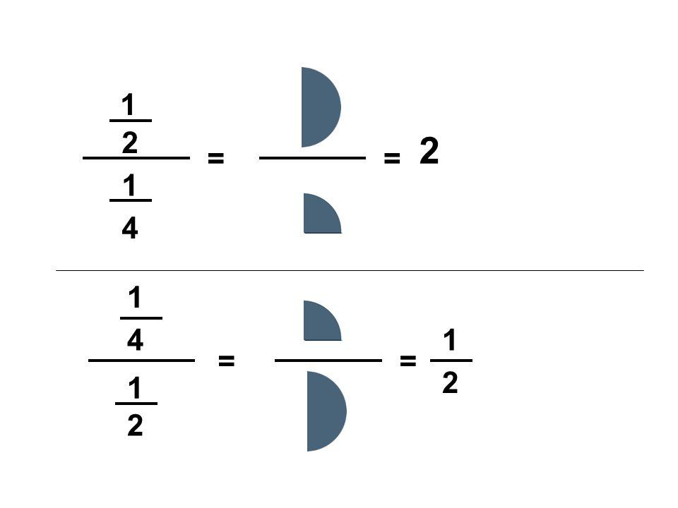 1 2 4 1 = = 1 2 1 4 = = 1 2 2