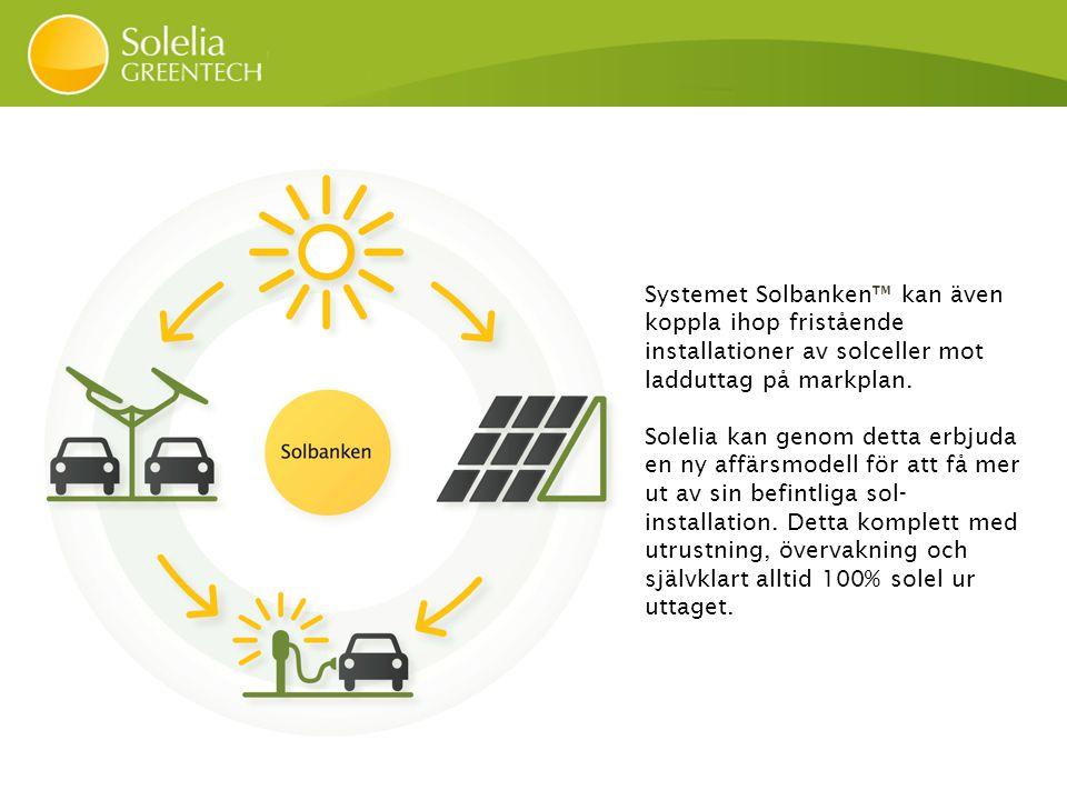 Solparkering Solstolpe Solproducent Solsystem Solladdstation