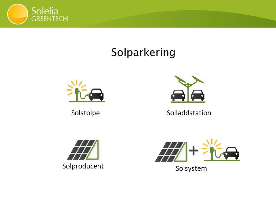 Invigning av Uppsala kommuns första solladdstolpe med kommunalråd Stefan Hanna.