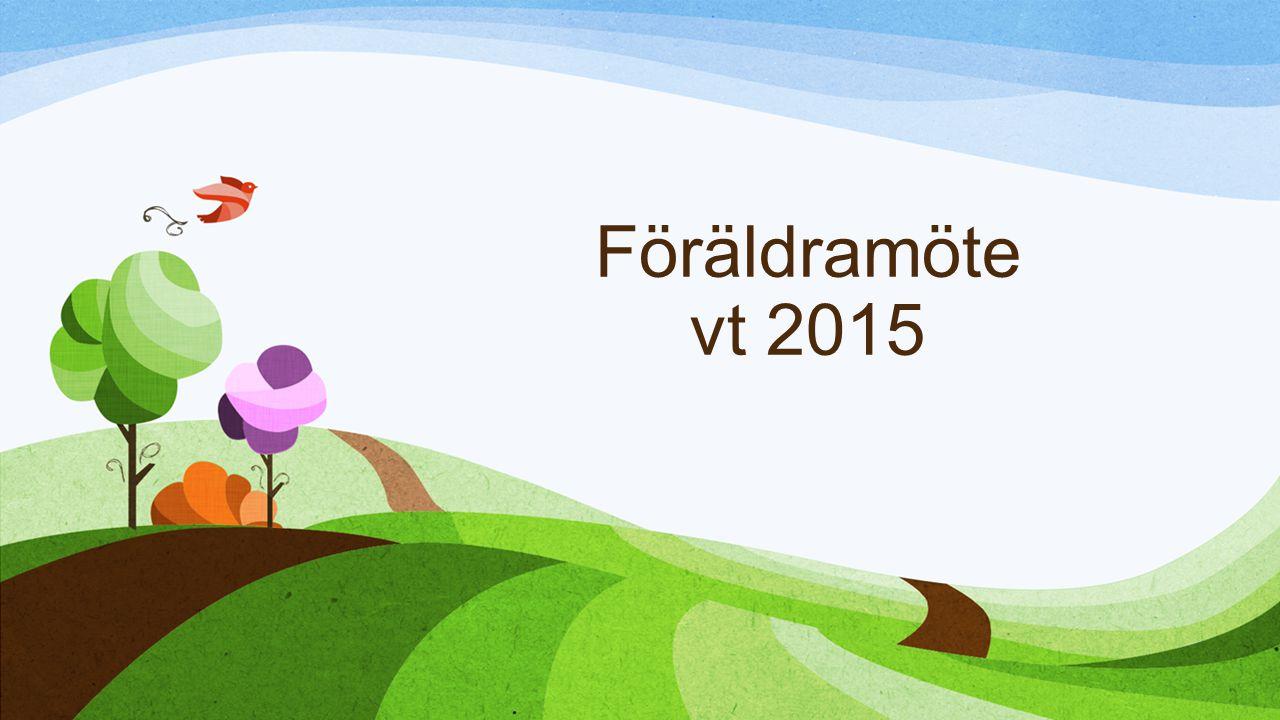 Föräldramöte vt 2015