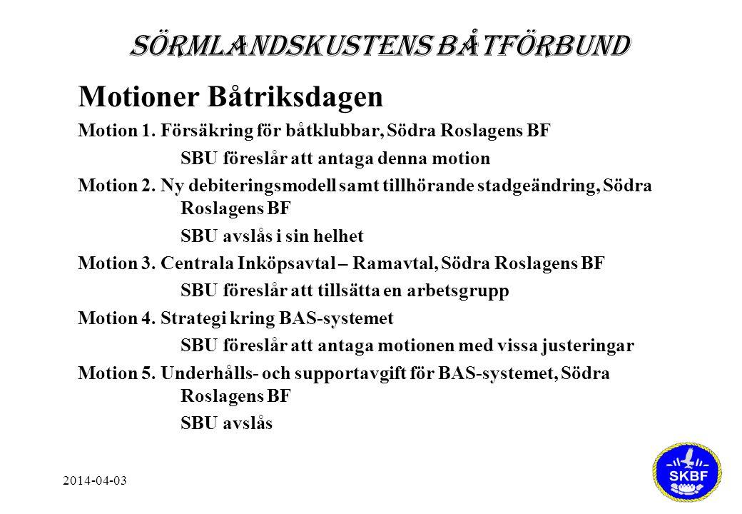 2014-04-03 Motioner Båtriksdagen Motion 1.