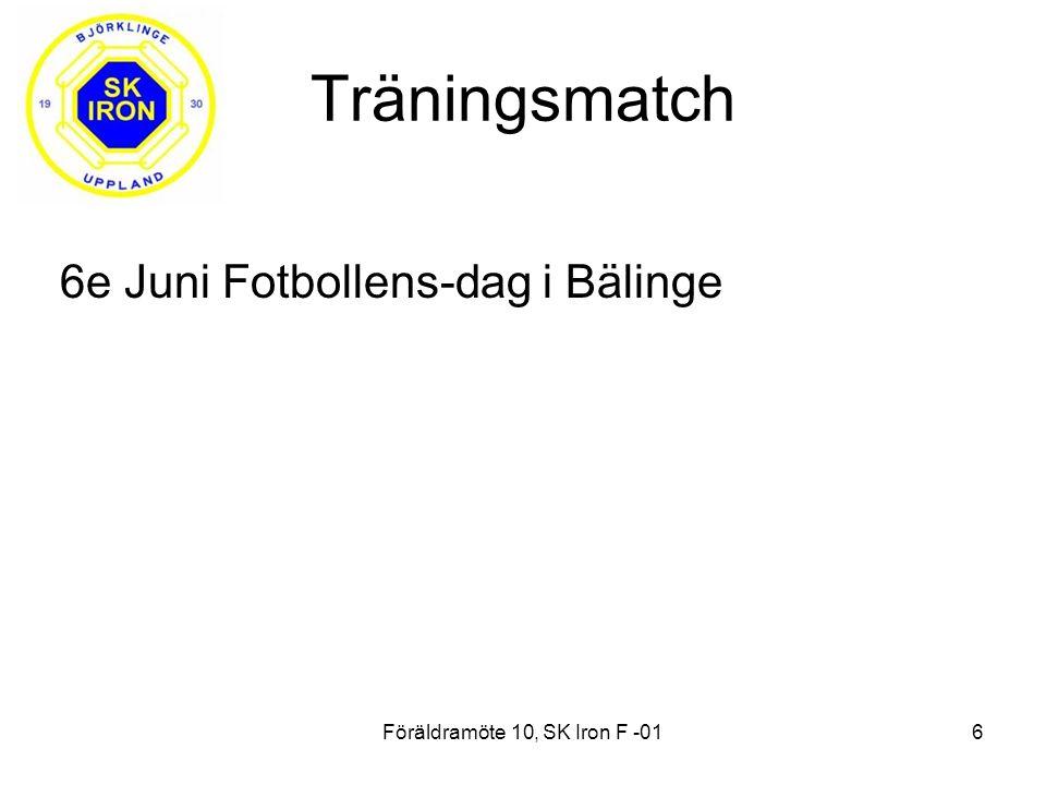 Träningsmatch 6e Juni Fotbollens-dag i Bälinge Föräldramöte 10, SK Iron F -016