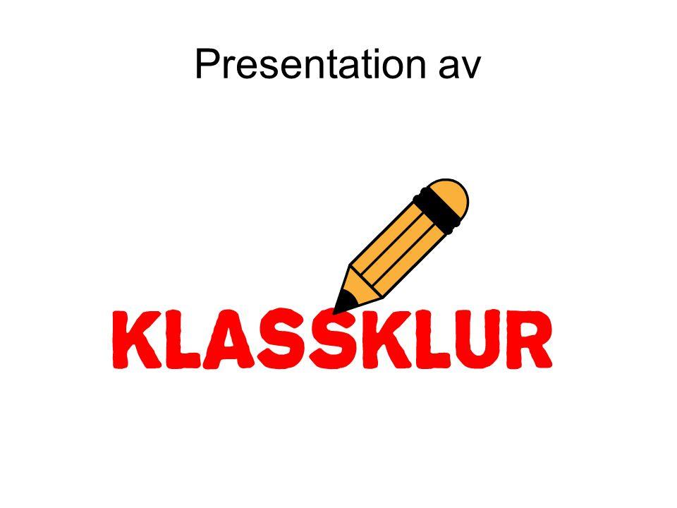Presentation av