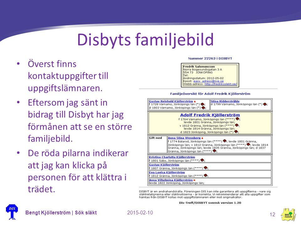 Bengt Kjöllerström | Sök släkt2015-02-10 12 Disbyts familjebild Överst finns kontaktuppgifter till uppgiftslämnaren. Eftersom jag sänt in bidrag till