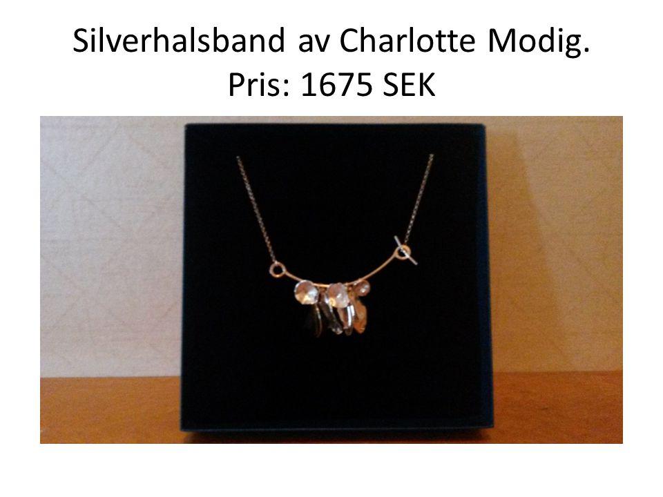 Silverhalsband av Charlotte Modig. Pris: 1675 SEK