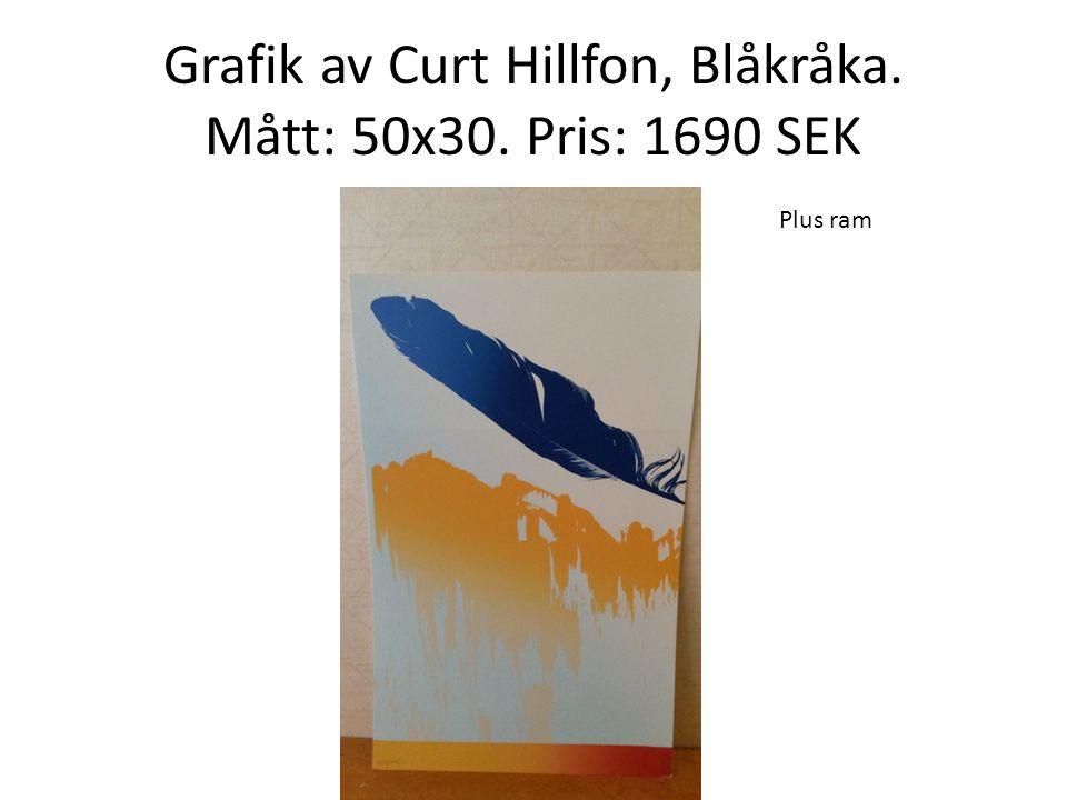 Grafik av Joakim Derlow, Vassen. Mått: 29x28. Pris: 1450 SEK Plus ram