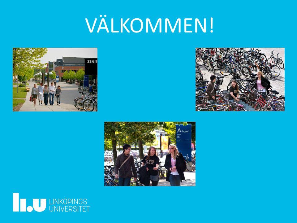 www.liu.se VÄLKOMMEN!