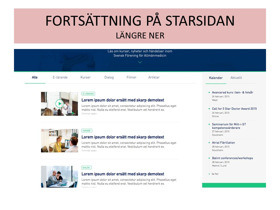 FORTSÄTTNING PÅ STARSIDAN LÄNGRE NER