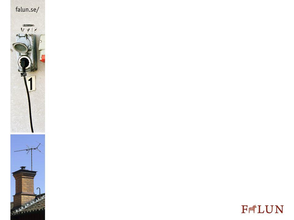 Fortsatt arbete – kartläggning Energikartläggning via enkät till 360 företag Svar från 245 Samordnat för tre syften Kommunal energi- och klimatplan Underlag för energirådgivningen Underlag för prioritering av tillsynsinsatser Missar i informationen och bristande kunskap hos mottagarna gav inte så bra svar Visade dock att kunskapsnivån är låg!