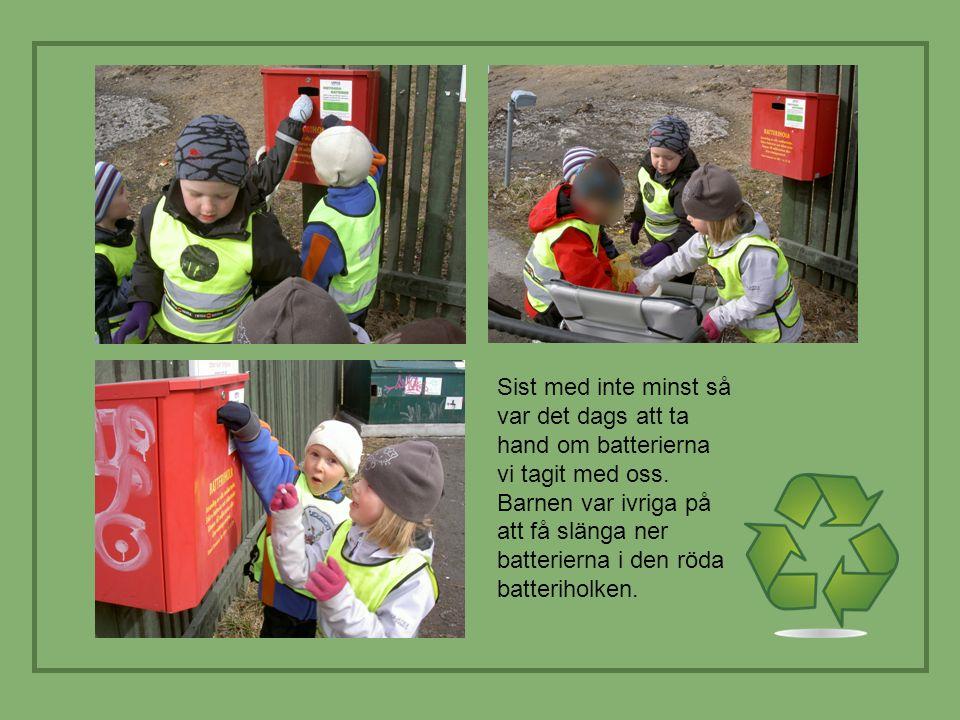 Förskola skall lägga stor vikt vid miljö- och naturvårdsfrågor.