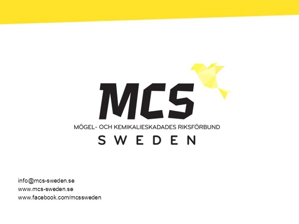 info@mcs-sweden.se www.mcs-sweden.se www.facebook.com/mcssweden
