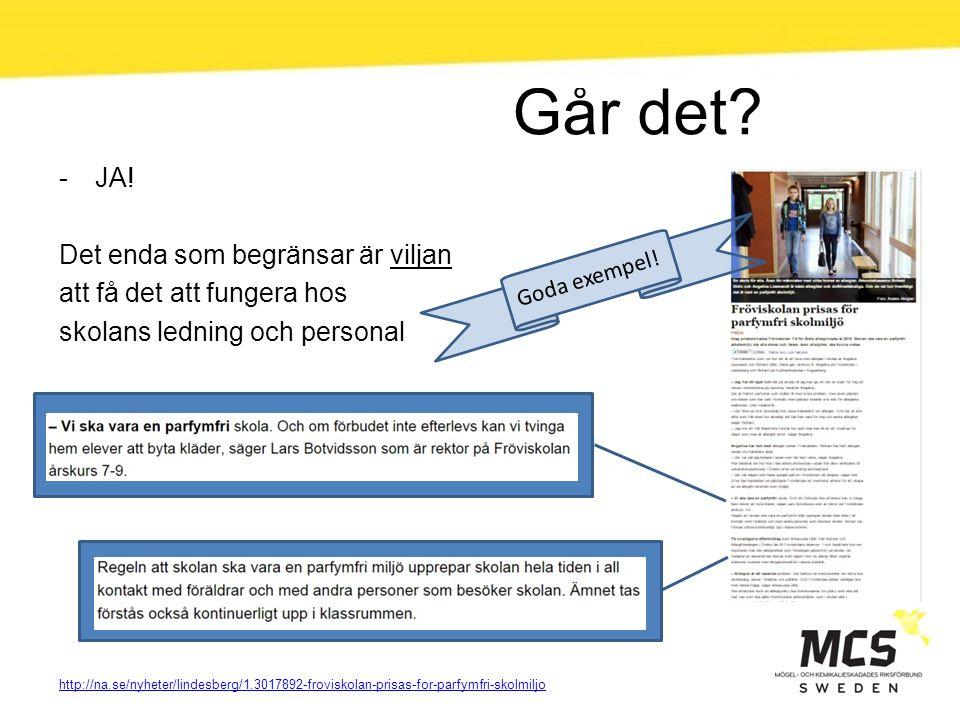 Går det? -JA! Det enda som begränsar är viljan att få det att fungera hos skolans ledning och personal http://na.se/nyheter/lindesberg/1.3017892-frovi
