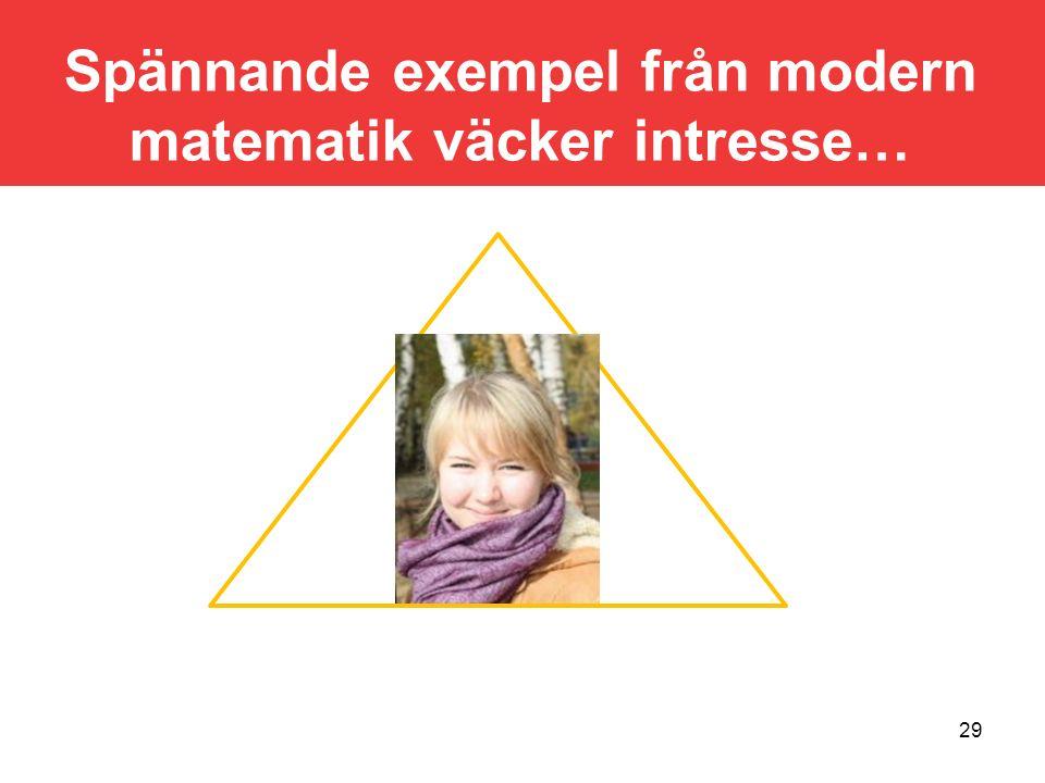 30 Von Kochs snöflingekurva Ett exempel på en (fraktal) figur som har oändlig omkrets men ändlig innesluten area.