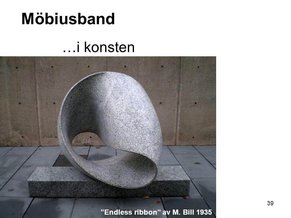 40 Möbiusband …i konsten Immortality av J. Robinson