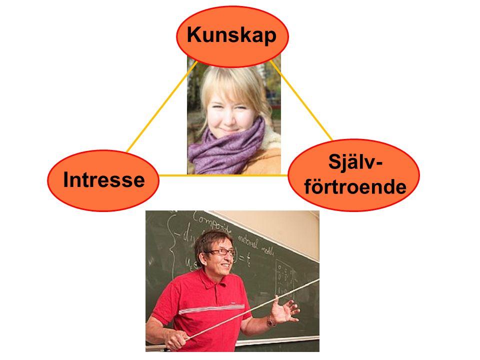 Kunskap Intresse Själv- förtroende