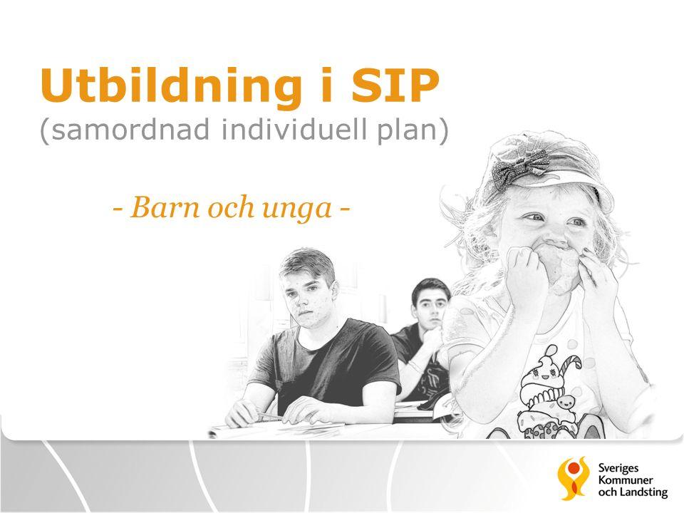 Utbildning i SIP (samordnad individuell plan) - Barn och unga -