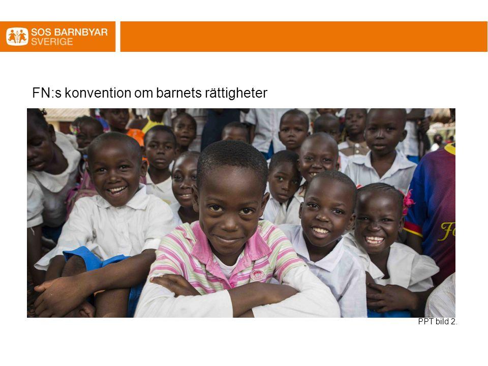 FN:s konvention om barnets rättigheter PPT bild 2.