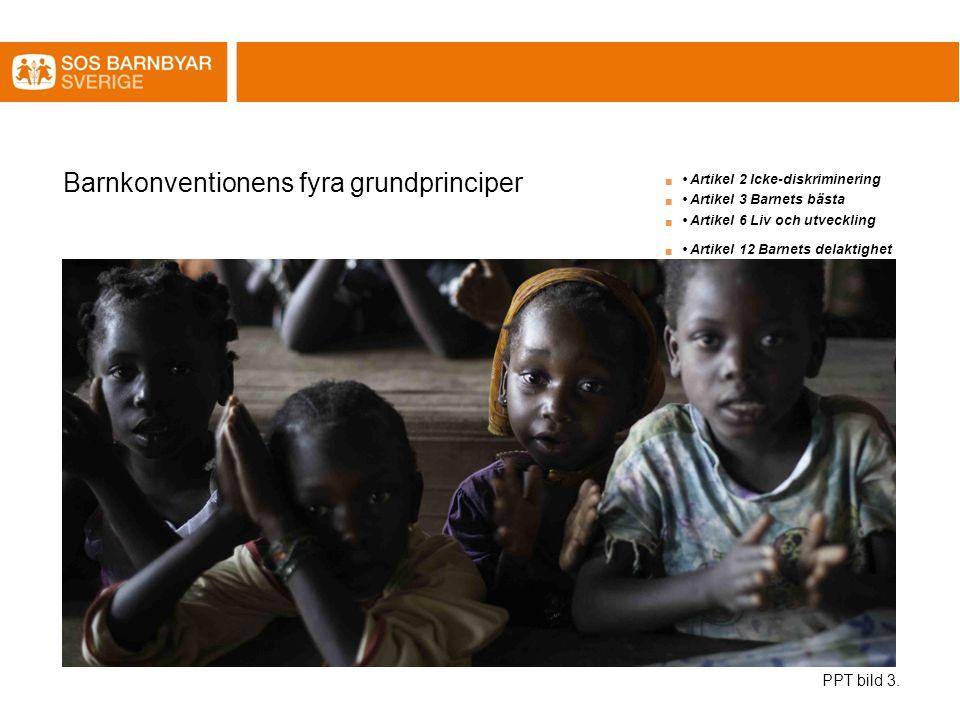 Barnkonventionens fyra grundprinciper PPT bild 3.