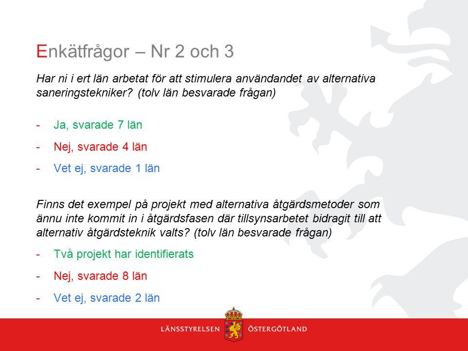 Hur har kommunikationen mellan myndigheten och motparten fungerat under genomförandet (bild 2 av 4) Tre - fem möten/år (2013-2014).