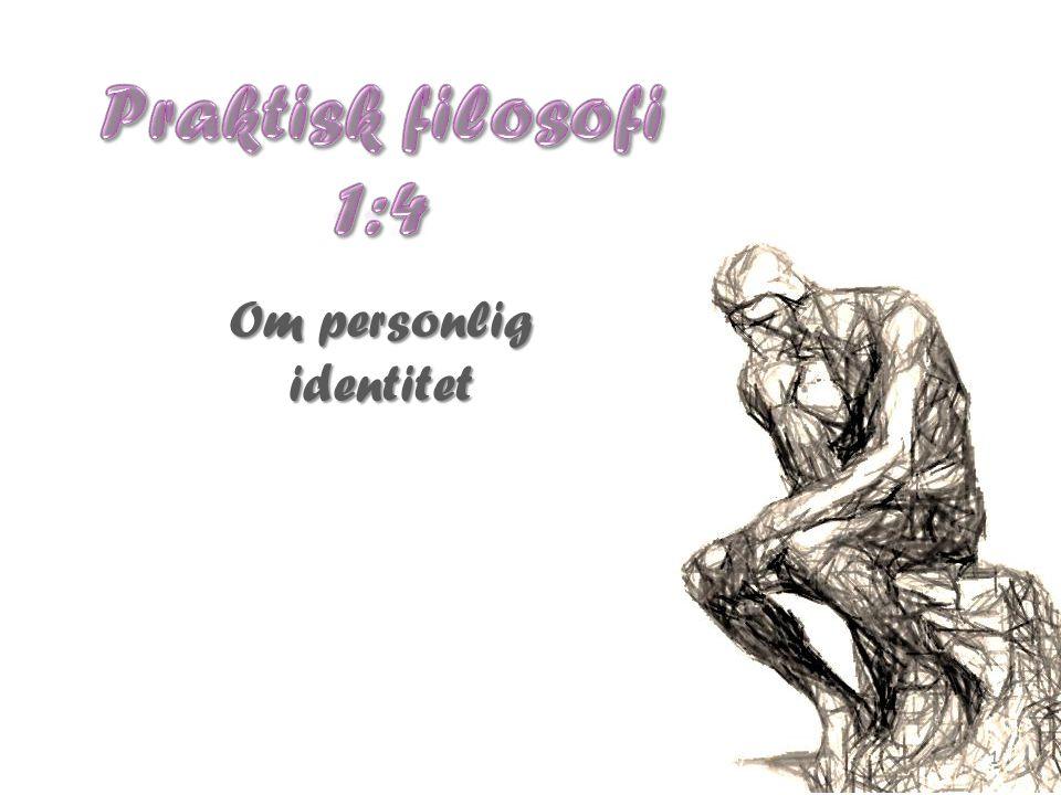 Om personlig identitet 1