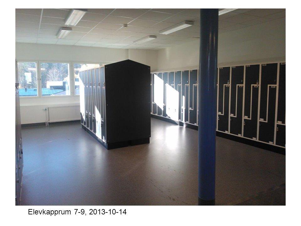 Elevkapprum 7-9, 2013-10-14