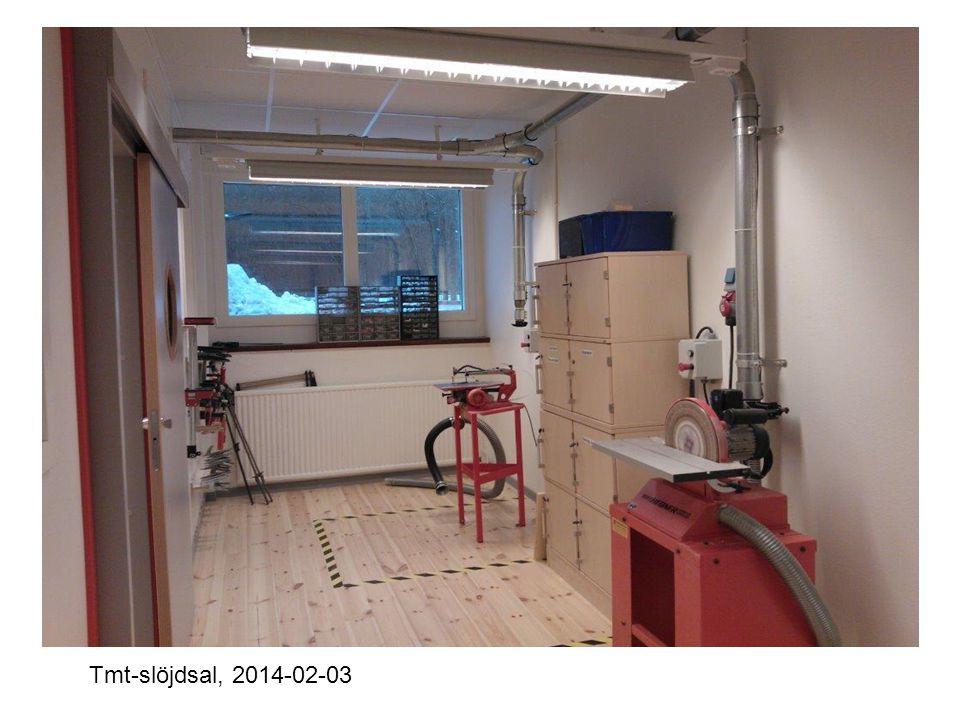 Txt-slöjdsal, 2014-02-03