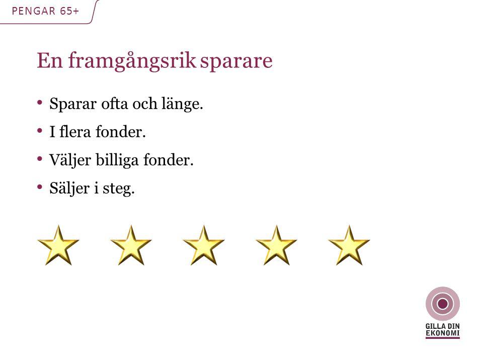 Välj rätt skatt: ISK PENGAR 65+ Låg och jämn skatt.