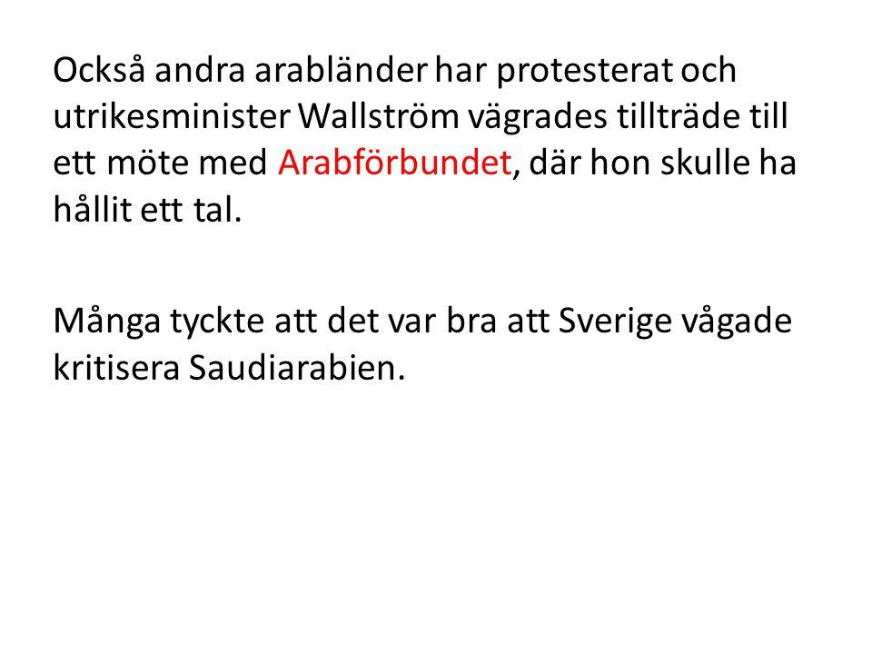 Men många oroar sig nu för Sveriges ekonomi eftersom Sverige är ett litet, exportberoende land.