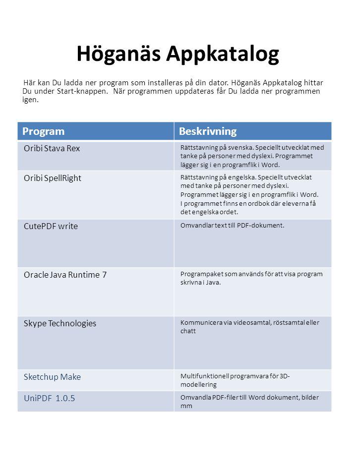 APPAR Appar via kommunavtal Inläsningstjänst Åk 1-9 Gymnasie skolan Inlästa läromedel med digital bokhylla i app på iPad eller mobil..