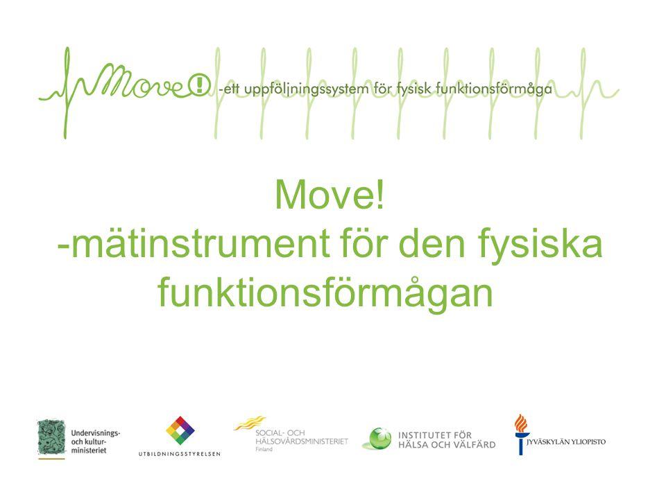 Move! -mätinstrument för den fysiska funktionsförmågan