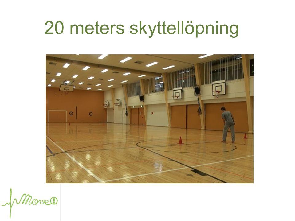 20 meters skyttellöpning
