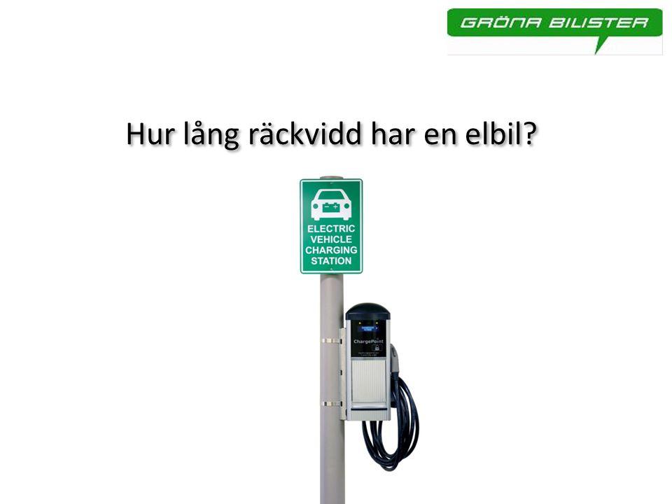Hur lång räckvidd har en elbil