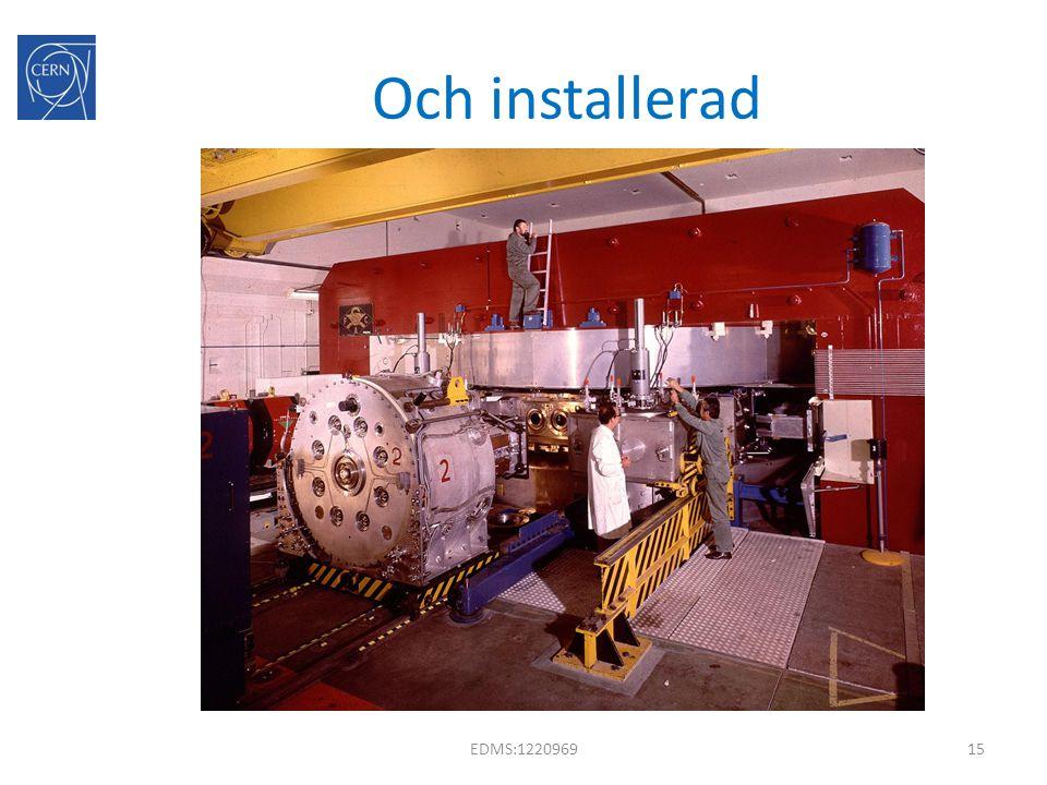 Och installerad EDMS:122096915