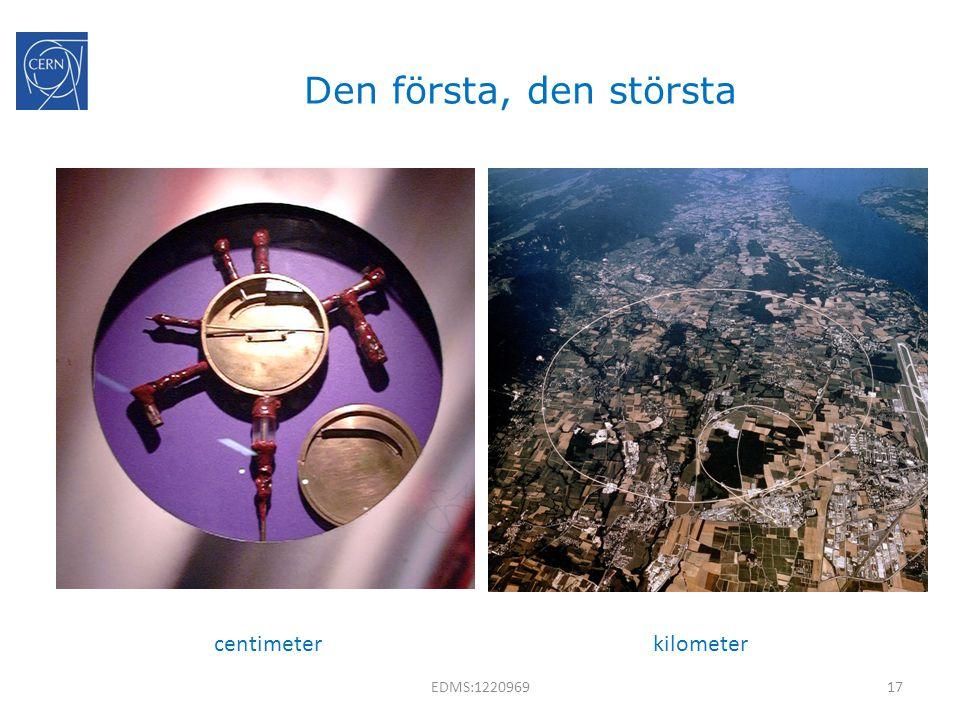Den första, den största kilometercentimeter 17EDMS:1220969
